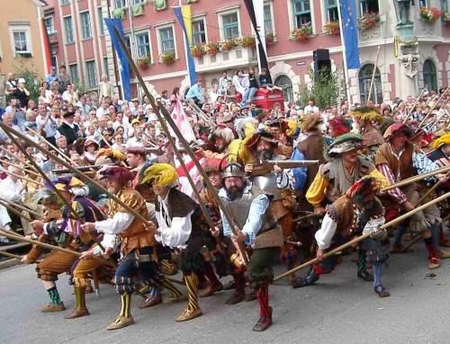 Mindelheim Frundsbergfest 29.6 bis 8.7.2018
